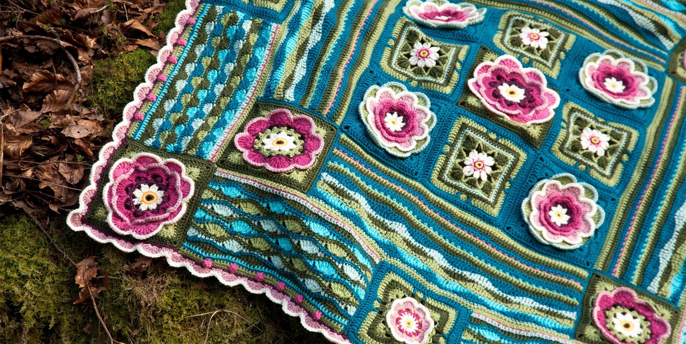 Lily Pond Blanket Kleuren Materiaal En Tips De Haakhelden
