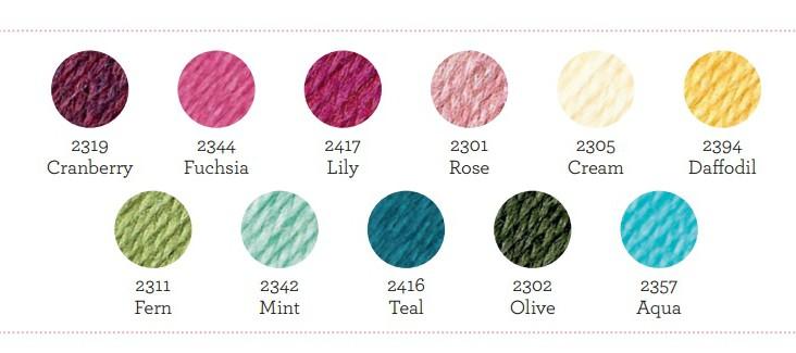 Lily pond kleuren Stylecraft Life DK