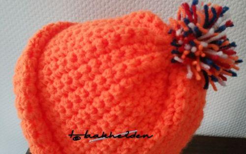Oranje muts 14