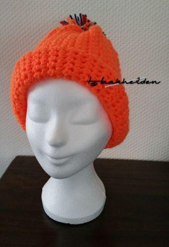 Oranje muts 15