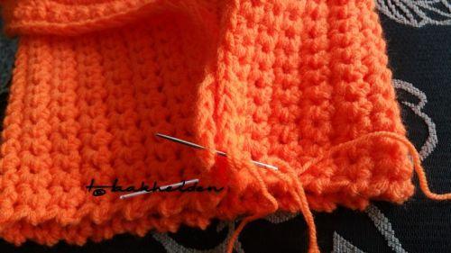 Oranje muts 8