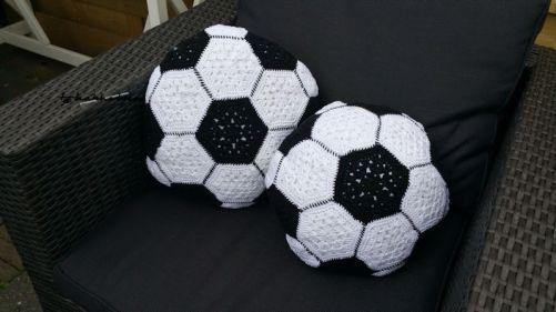 Voetbal kussen 5