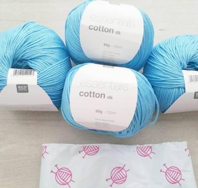 wolplein tas met Rico essentials cotton dk 37