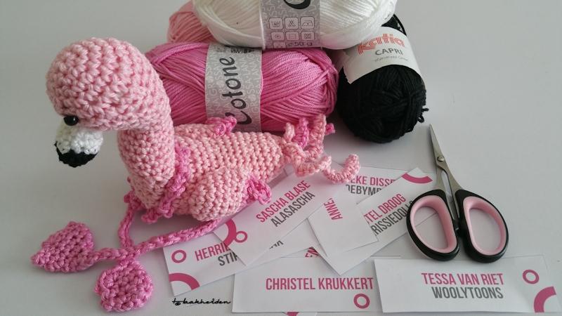 De Bezige Vingers Monique 29 Amigurumidag Crochet Along 2016 De
