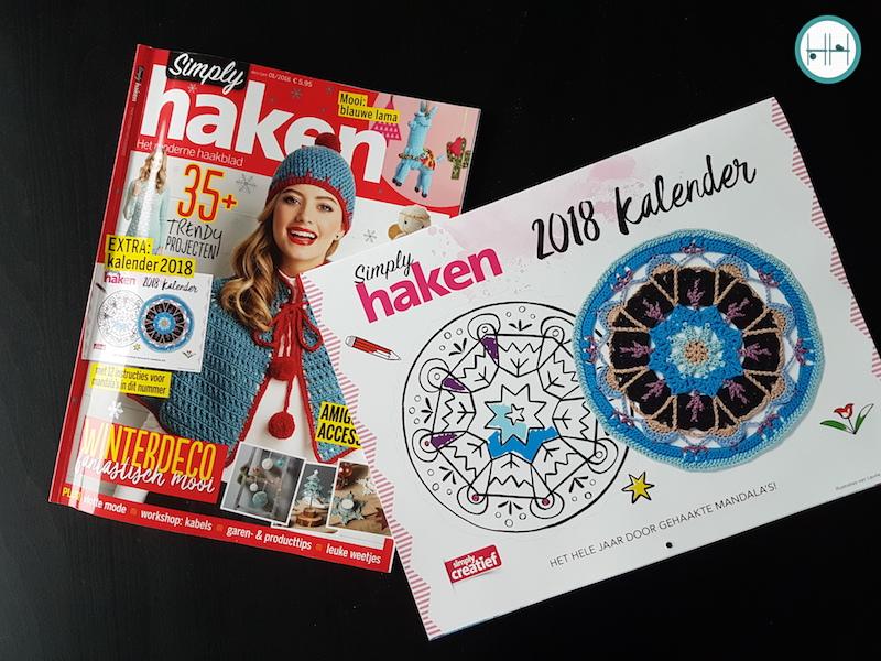 Achter De Cover Simply Haken December 2017januari 2018 De Haakhelden